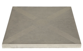 Optimum Decora 60x60 Silver Bow