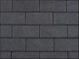 BSS 8 cm KOMO zwart met deklaag betonklinker