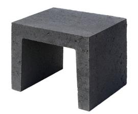 U Element 40x40x50 zwart