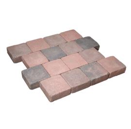Cobblestones 21x14x7 cm Rood Genuanceerd