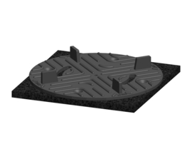 Solidor Vaste Terrasdragers RC 10 + CI3/4T 1 cm