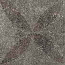 VT Wonen Solostone Decoren Hormigon Flower Antracite 70x70