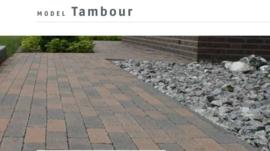 Tambour brons 15x20x6