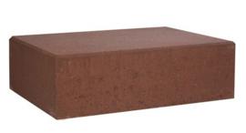 Schellevis Traptrede Blok Rood / Bruin 100x40x20