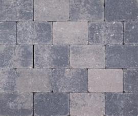 Kobblestones 21x14x7 cm Grijs-Zwart