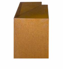 Corten 200/200x300x150 mm Overzetstuk Hoek