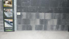 Puras strak 20x30x6 Grijs zwart