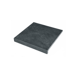 Cera Deco keramiek Randtegel Slate Black 60x60x3 R