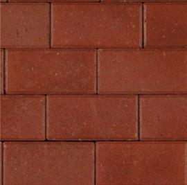 Betonklinker 10 cm rood bss