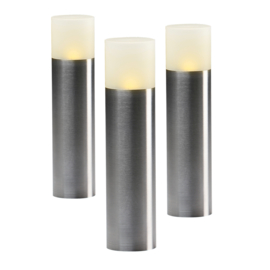 Garden Lights Oak Set