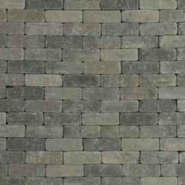 Metro Trommelsteen 15x5x7,5 cm grijs zwart genuanceerd