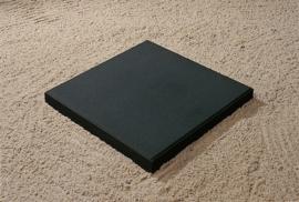Betontegel 50x50x5 zwart MF