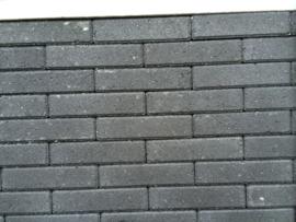 Waalformaat strak zwart