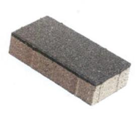 ZOAK 20x10x5,5 cm Donkergrijs