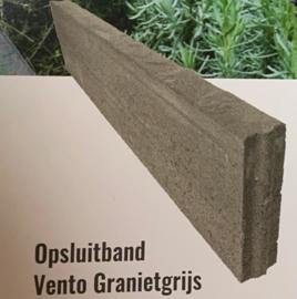 Opsluitband Vento Grijs/Zwart 6x20x100