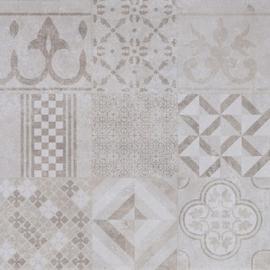 GeoCeramica 60x60 Design Mosaik Beige tegel