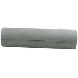 Oprit stootband beton 20x20x100 cm 2x vlak