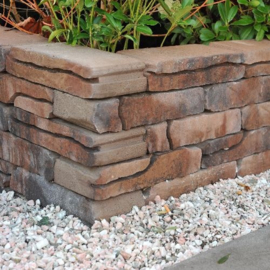 Stone walling verona naturel