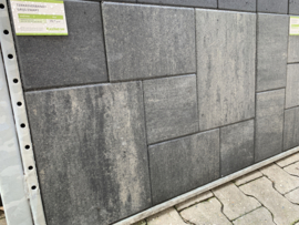 Excluton Terrasverband+ 4 cm grijs/zwart