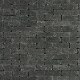 Metro Trommelsteen 15x5x7,5 cm antraciet genuanceerd