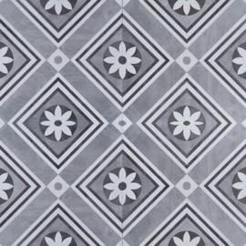 GeoCeramica 60x60 Concreet Flower tegel