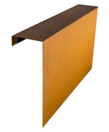 Corten 1000x450x150 mm Overzetstuk