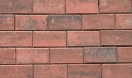 BSS 6 cm rood genuanceerd met deklaag betonklinker