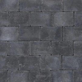 Abbeystones getrommeld zwart