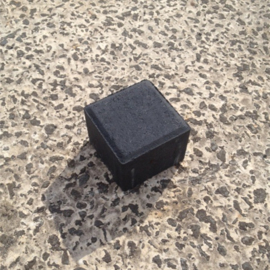 Tremico halve BKK Antraciet 8cm