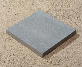 Betontegel 30x30x4,5 grijs zonder facet