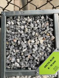 Arctic Blue 8-16 mm 25 KG vanaf 10 zakken