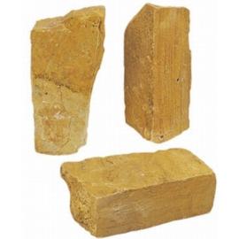 Stapelblok Bourgogne 10-15 cm geel