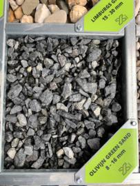 1000 kg Bigbag Olivijn Greensand 8-16 mm