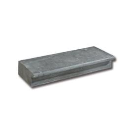 Blue Stone Traptrede Gezoet met neus 50x35x15 cm Hoekstuk uitwendig