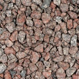 Graniet split rose rood 8 16