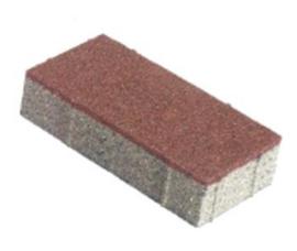 ZOAK 20x10x5,5 cm Rood