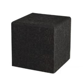 Schellevis Zitelement Kubus Carbon 50x50x50