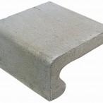 Traptrede 40x20x40 grijs