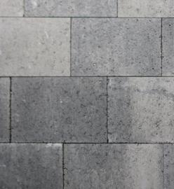 Metro Vlaksteen 20x30x4 Grijs/Zwart