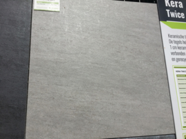 Kera Twice 60x60x5 Moonstone Grey