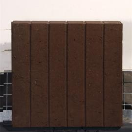 Rectoband 8x50x50cm Bruin