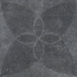 VT Wonen Solostone Decoren Hormigon Butterfly Antracite 70x70
