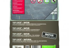 Dansand voegmortel Top lock hard Natural