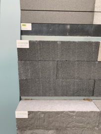 MBI GeoColor stapelblok Solid Black 60x15x15