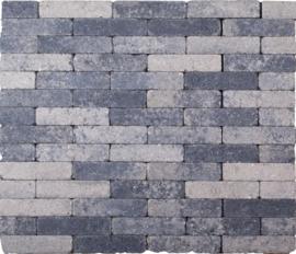 Kobblestones Waalformaat 20x5x7 cm Grijs Zwart