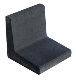 L-element 40x40x40 zwart