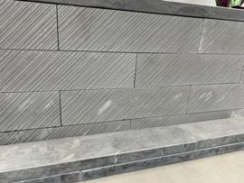 Linia Palissade Excellence 15x15x60 cm Vento Granietgrijs