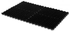 Grindmat 120x80x3,8 / 2,5 Zwart