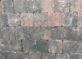 Cobblestones 21x14x7 cm Rood Zwart