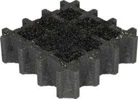 Aqua drain tegel 30x30x8 cm nero